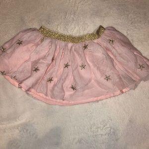 Kardashian kids pink newborn tuttu with gold stars